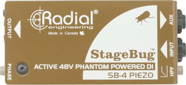 Radial Engineering StageBug SB-4 Piezo Orchestra DI