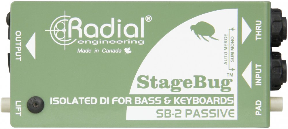 Radial Engineering StageBug SB-2 Passive