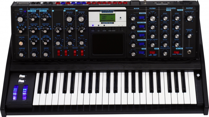 Moog Minimoog Electric Blue Voyager Synth