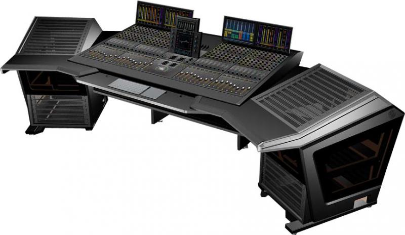 Sterling Modular Plan D - Avid S6 Mixer Conversion M40-32-9 Console