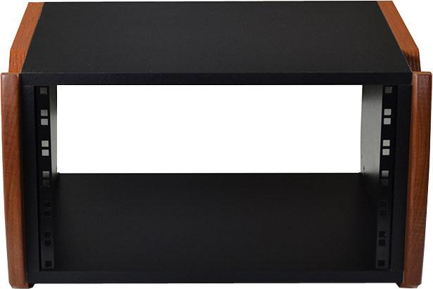 Zaor Miza Desktop Rack 6 RU - Black/Cherry