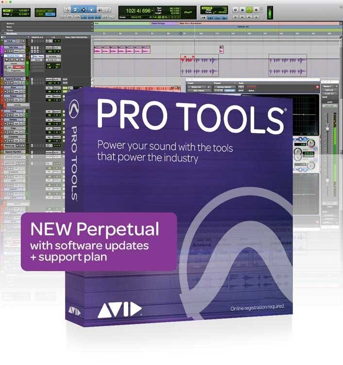 Avid Pro Tools with Annual Upgrade (Boxed)