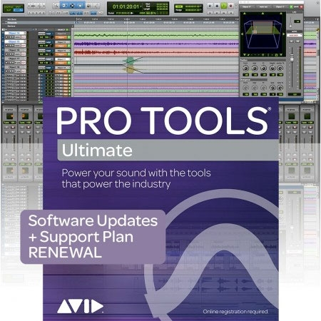 Avid Annual Upgrade and Support Plan Renewal for Pro Tools HD
