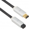 Neo D+ Firewire 6 pin to 9 pin Cable - 2 Meters