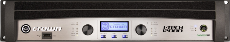 Crown I-Tech 12000HD