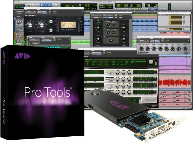 Avid HD/TDM Exchange to HDX Core - w/ Pro Tools HD Software