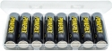 MAHA Energy Powerex AA MH-8AAP-BH 2600 mAh 8-Pack Rechargeable Batteries