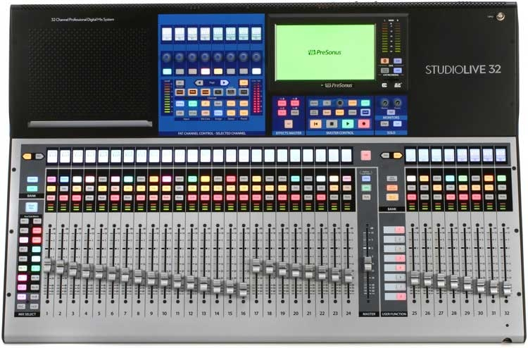 presonus studiolive 32 series iii studio economik pro audio recording equipment montreal. Black Bedroom Furniture Sets. Home Design Ideas