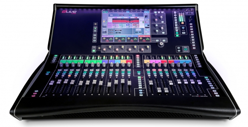 Allen & Heath dLive C2500 Surface