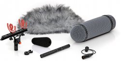 DPA 4017B-R with Rycote Windshield