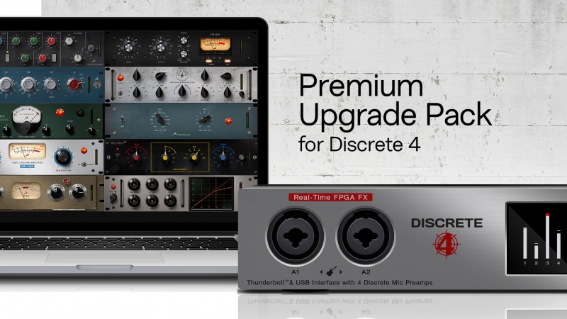 Antelope Audio Premium Upgrade Pack for Discrete 4