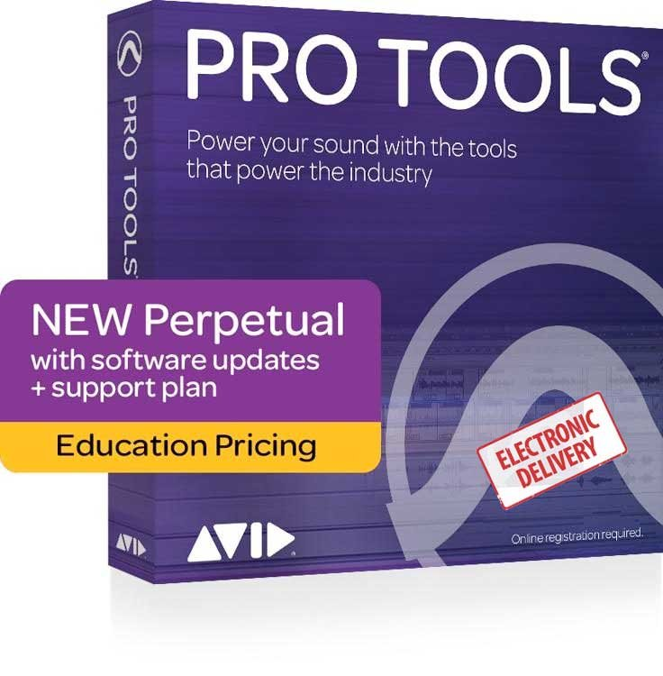 Avid Pro Tools - Annual Upgrade and Support Plan - Institutional (Download)