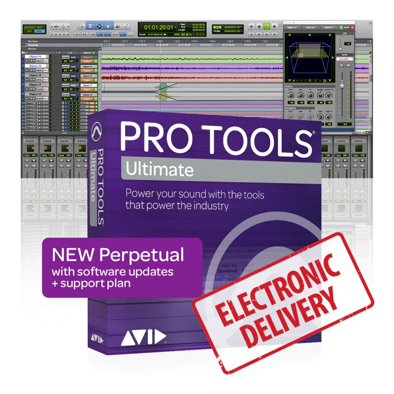 Avid Pro Tools | Ultimate Perpetual Licence (Download)