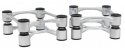 IsoAcoustics ISO-APERTA Silver (Pair)