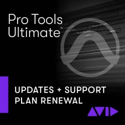 Avid Pro Tools | Ultimate 1-Year Software Updates + Support Plan Renewal for Perpetual Licenses (Download)