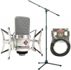 Neumann TLM 102 Studio Set with K&M 210/6 and Mogami Gold Studio 25'