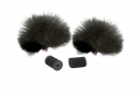 Rycote Lavalier Windjammer Black 065501 (Pair)