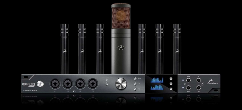 Antelope Audio Orion Studio Rev. 2017 + Edge Duo + Verge Modeling Mics (6)