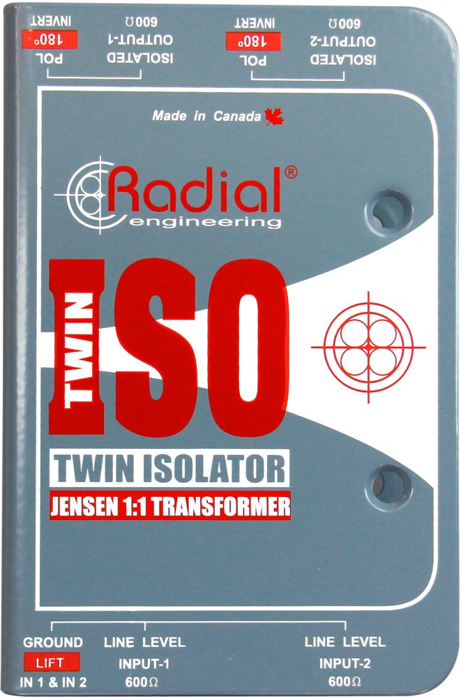Radial Engineering Twin Iso