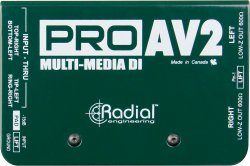 Radial Engineering ProAV2