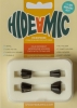 Hide-a-mic Holders for DPA 4060/4061/4071 (4-Set, Black)