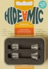Hide-a-mic Holders for DPA 4060/4061/4071 (4-Set, Transparent)