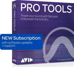 Avid Pro Tools 1-Year Subscription NEW with 1 Year Software Updates + Support Plan (Boxed)