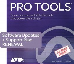Avid Pro Tools 1-Year Subscription RENEWAL with 1 Year Software Updates + Support Plan (Download)
