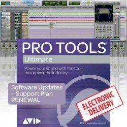 Avid Pro Tools | Ultimate 1-Year Subscription with 1-Year of Updates + Support Plan RENEWAL (Download)