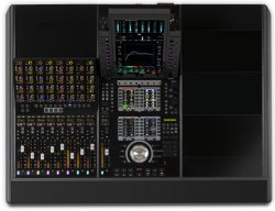 Avid S4 8-Fader Control Surface - 3 ft base