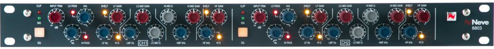 AMS Neve 8803 Dual Channel EQ & Filter Module