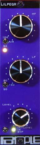Purple Audio LILPEQr 2 Band Program EQ