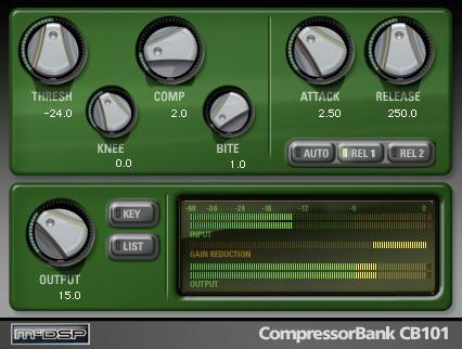 McDSP Compressor Bank HD v6