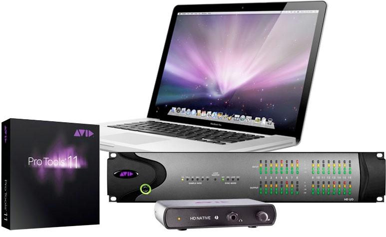 Avid Pro Tools HD/Native Thunderbolt w/ Macbook Pro
