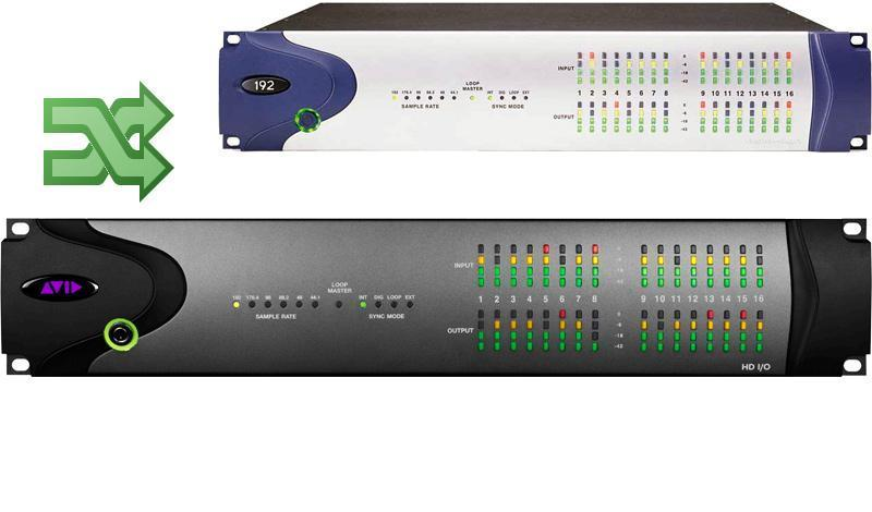 Avid Upgrade, Legacy I/O to HD I/O 8x8x8 Exchange