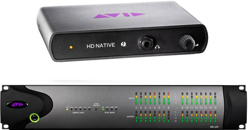 Avid Pro Tools|HD Native Thunderbolt w/ HD I/O 16x16 Analog System