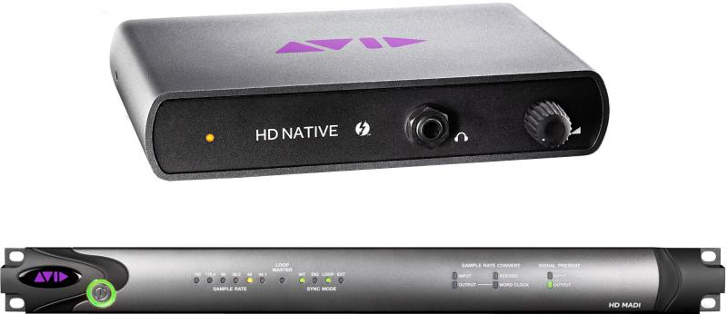 Avid Pro Tools|HD Native Thunderbolt w/ HD MADI System