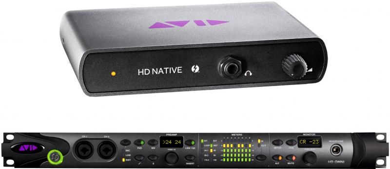 Avid Pro Tools|HD Native Thunderbolt w/ HD OMNI System