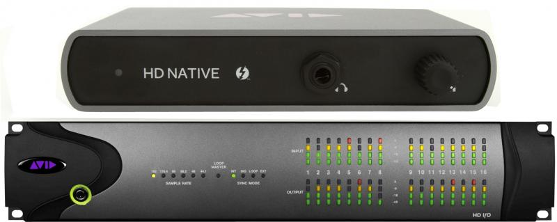 Avid 00x/Mbox Pro HW Exchange to HD Native Thunderbolt HD IO 8x8x8 System