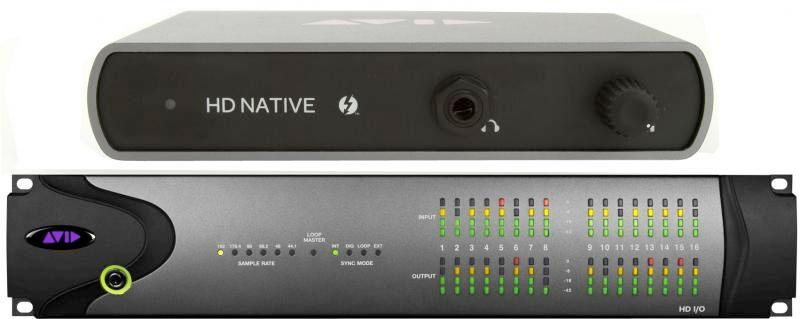 Avid 00x/Mbox Pro HW Exchange to HD Native Thunderbolt HD IO 16x16 System